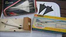 CORGI 650  PAIR OF BRITISH AIRWAYS & BOAC LIVERY  CONCORDES BOTH BOXED ORIGINALS