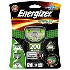 Energizer vision hd + Phare LED mains libres headtorch 200 lumens projecteur