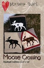 MOOSE CROSSING SEWING PATTERN, From Northern Quilts NEW