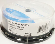 100x Falcon Pro Bd-r 6x Blu-ray Smart Tinta Blanco