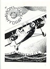 1934 - S.P.C.A. Planes & Hydroplanes -French print ad- Aviation
