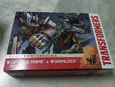 Transformers AOE Movie 4 Optimus & Grimlock Platinum Edition Hasbro MISB