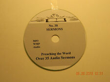 No 38,  Over 35  Audio Sermons, MP3 one CD