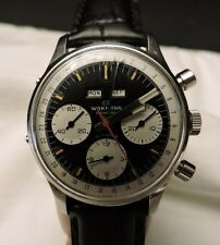 Vintage Wakmann Triple Date Three Register Chronograph WATCH Minty SERVICED
