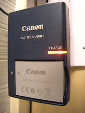 Genuine OEM Canon Battery Pack NB-5L and Canon Charger CB-2LX G