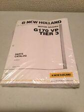 New Holland G170 VP Tier 3 Motor Grader Parts Catalog
