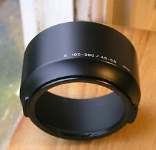 genuine minolta AF 100-300mm 100 300  F4.5 5.6 lens hood,clip on