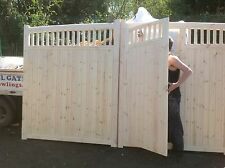 wooden driveway gates village extra gates 6ft h x 12 ft wide