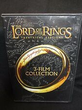 The Lord of the Rings: 3-Film Collection (DVD, 2014, 3-Disc Set, Theatrical Vers