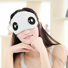 Panda Face Eye Travel Sleep Cute Lightproof Mask Blindfold Portable Nap Cover