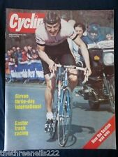 CYCLING - GIRVAN THREE DAY INTERNATIONAL - APRIL 28 1984