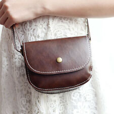 Womens PU Leather Small Satchel Handbag Crossbody Shoulder Bag Messenger Totes