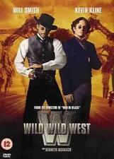 WILD WILD WEST WILL SMITH KEVIN KLINE KENNETH BRANAGH WARNER UK REGN 2 DVD L NEW