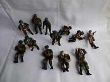 12 Warriors Soldiers Marines Plastic Toy Figures Military Adventure Vietnam
