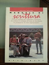 Adelia Vonini - Marisa Napoli - Manuale Di Scrittura - Archimede - 1993