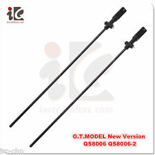 2PCS G.T.Model QS8006 QS 8006-2 RC Helicopter Part 003- Central Axis/Inner Shaft