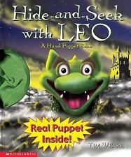 Hide-And-Seek with Leo: A Hand-Puppet Book with Toy by Weare, Tim