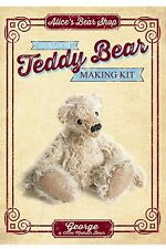 Mohair Bear Making Kit - George 12cm