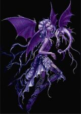 Dragon Fairy Counted Cross Stitch Kit