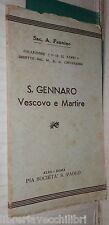 SAN GENNARO VESCOVO E MARTIRE Antonio Pennino Pia Societa San Paolo Religione