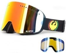 NEW Dragon NFX Rasta Red Ionized +Blue lens mens ski snowboard goggles Msrp$190
