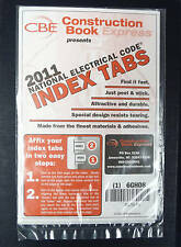 Tabs for NEC 2011 National Electrical Code Book by CBE, New , Free Shipping