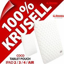 New Krusell Coco Padded Quilted Sleeve Fits for iPad 2 / 3 / 4 Air Tablet Pouch