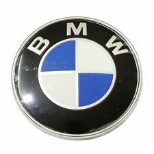 1PC Classic Replacement Rear Trunk Side Badge Emblem 78mm 2Pins for BMW 3 Series