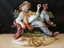 "B Merli   Large Figurine  ""Lunch  with Friend "" - Excellent condition"
