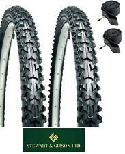 "PAIR OF - MOUNTAIN BIKE/CYCLE TYRES AND INNER TUBES 12"" INCH"
