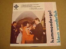 45T SINGLE / KLAUS WUNDERLICH - HAMMONDORGEL