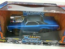 1:24 Muscle Machines | 1966 Pontiac GTO (Blue)
