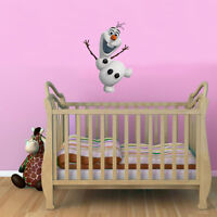 Frozen Olaf Kids Boy Girls Bedroom Colour Vinyl Decal Wall Window Sticker Gift L