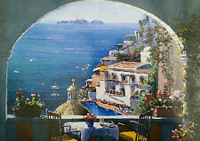 WH Smith Amalfi Window by Sam Park 1000 piece scenic jigsaw puzzle