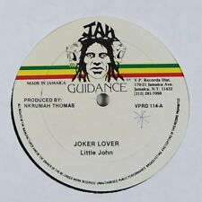 "Little John ""Joker Lover"" Reggae 12"" Jah Guidance mp3"