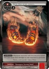 Force of Will 4x 4 x Red Hot Iron Shoes - CMF-033 - C x4  PACK FRESH MINT