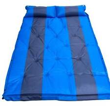 3cm Thick Premium Self Inflating Double Mattress Camping Hiking Airbed Mat with