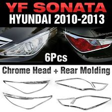 Chrome Head+Rear Garnish Molding (B629+B631) For HYUNDAI 2011-2014 YF Sonata