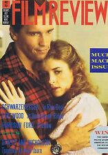 SCWARZENEGGER / CLINT EASTWOOD / HARRISON FORD Film Review Jan 1987