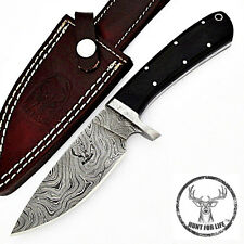Hunt For Life™ Khomas Highland Damascus Steel Full Tang Knife