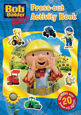 Bob the Builder: Colouring Press-out Activity Book (Paperback)