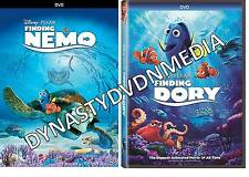 Finding Nemo + Finding Dory BRAND NEW 2 DVD COMBO PK SEALED SHIPS NOW