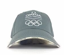 OMEGA Watches Official Olympic Timekeeper Gray Baseball Cap Hat Adult Adjustable