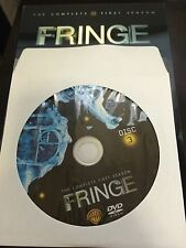 Fringe - Season 1, Disc 3 REPLACEMENT DISC (not full season)