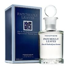 MONOTHEME FINE FRAGRANCES VENEZIA PATCHOULY LEAVES 100ML SPRAY EAU DE PATCHOULI