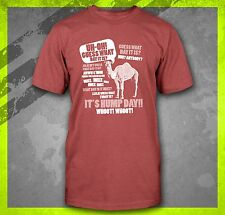 HUMP DAY CAMEL COMMERCIAL FUNNY GUESS WHAT DAY IT IS T-SHIRT TEE