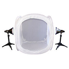 Lumiere L.A. L60229 24 in Photo Cube 4 Color Back Ground 2x 100W 5500K Light Kit
