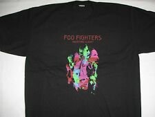 FOO FIGHTERS 2011 WORLD  TOUR  T-SHIRT NEW BLACK XLARGE