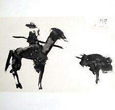 """Pablo Picasso, """"BULLFIGHT """" Hand signed Lithograph 1959 with Gallery COA"""