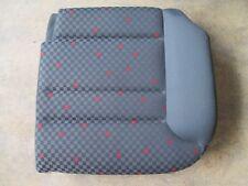 Sitzfläche Rücksitzbank links VW Audi A3 8L Sitz grau/rot Stoff Ausstattung